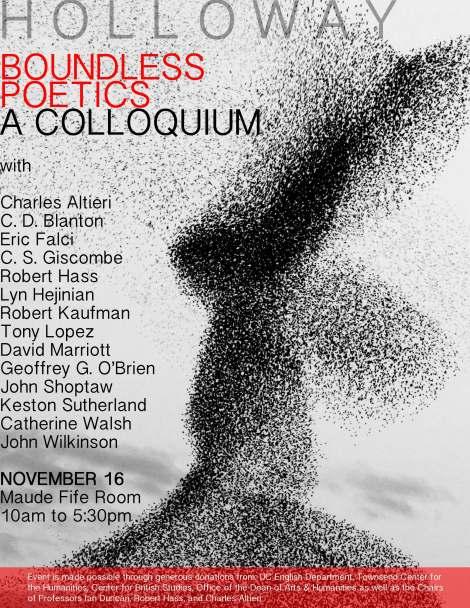 Boundless Poetics - A Colloquium