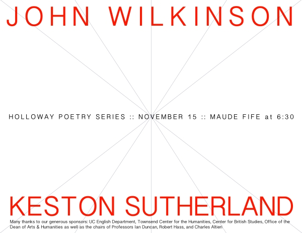 Keston Sutherland and John Wilkinson (medium)